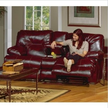 Red Leather Reclining Sofas And Loveseats With Trendy The Best Reclining Sofa Reviews: Red Leather Reclining Sofa And (View 10 of 10)