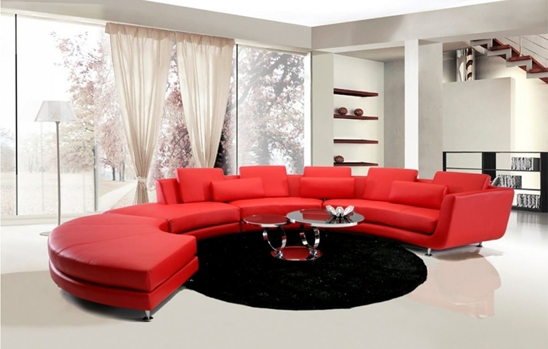Red Leather Sectionals With Ottoman Inside Preferred 20 Jigsaw Sectional Sofa That Will Bring Comfort And Style In Your (View 9 of 10)