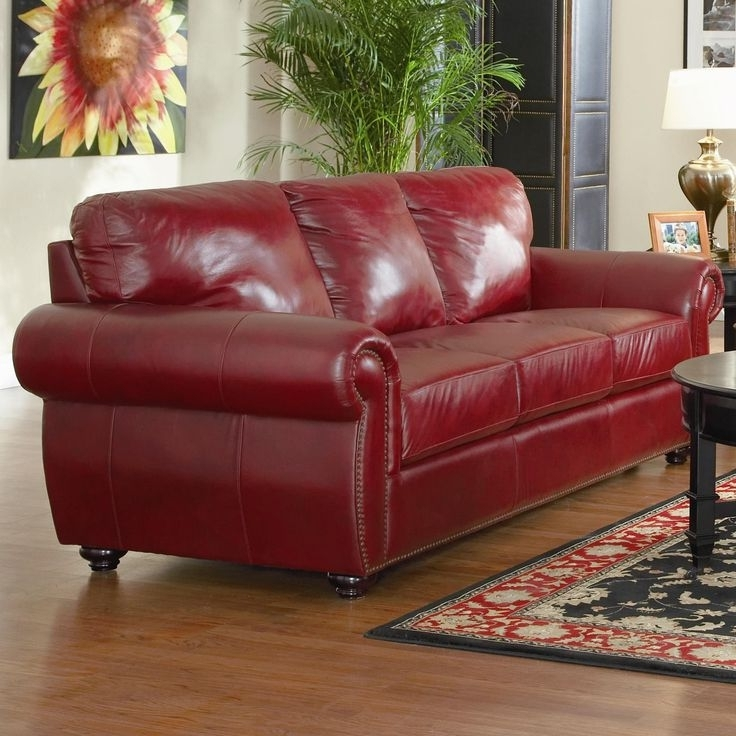 red for couches with sofas ideas office couch leather sofa luxury