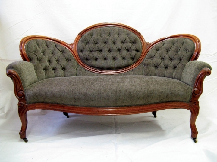 Retufting An Antique Sofa (View 2 of 15)