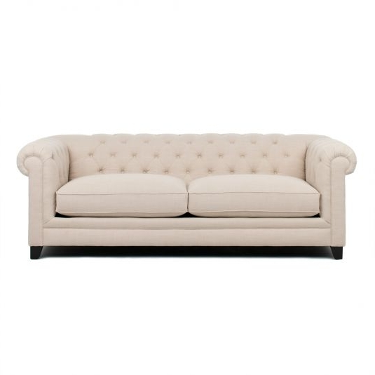 Richmond Sofas Within Trendy Richmond Living Room Collection – Linen Sofa In Linen (View 5 of 10)