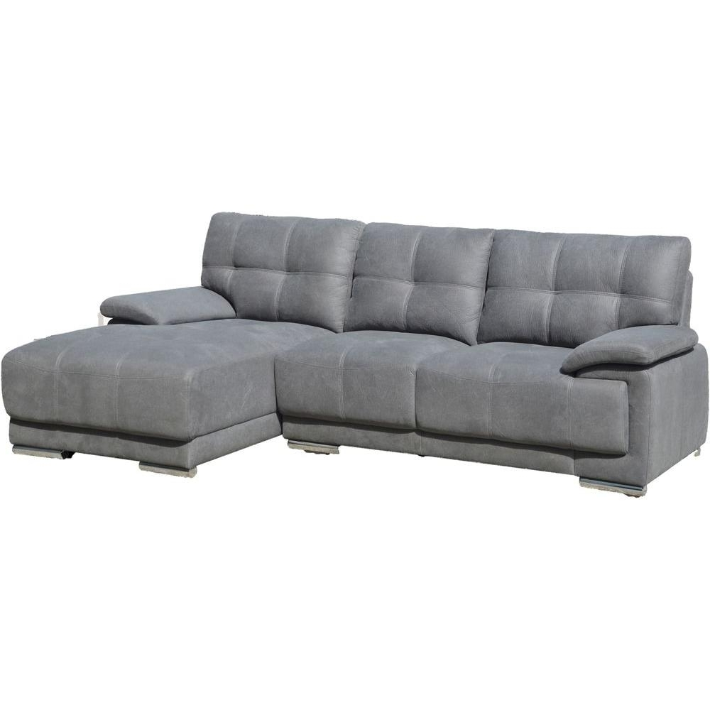 Right Facing Chaise Sectionals For Trendy Jacob Contemporary Tufted Stitch Sectional Sofa With Right Facing (View 9 of 15)