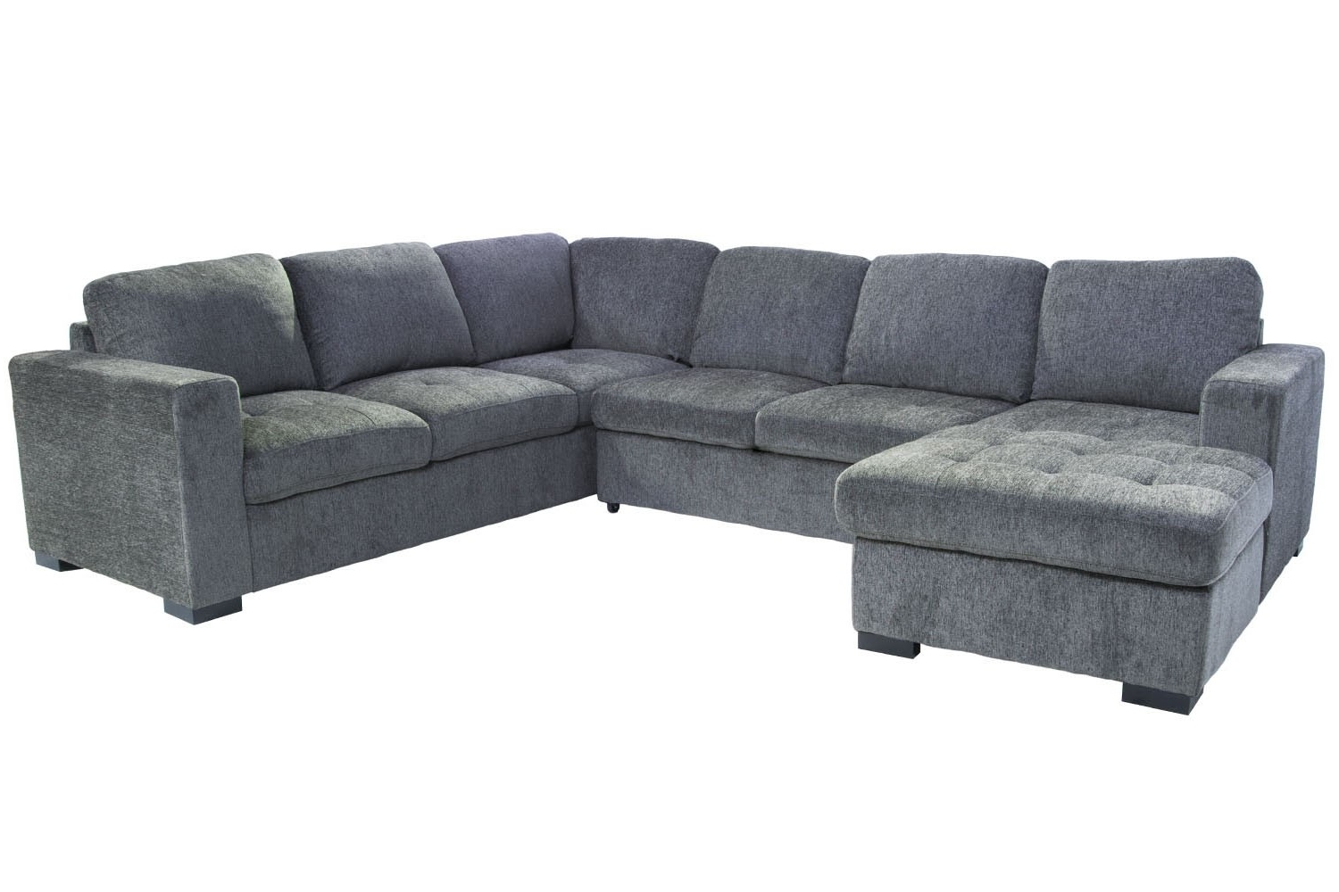 Right Facing Chaise Sectionals Regarding Most Current Claire 3 Piece Left Facing Chaise Sectional (View 6 of 15)
