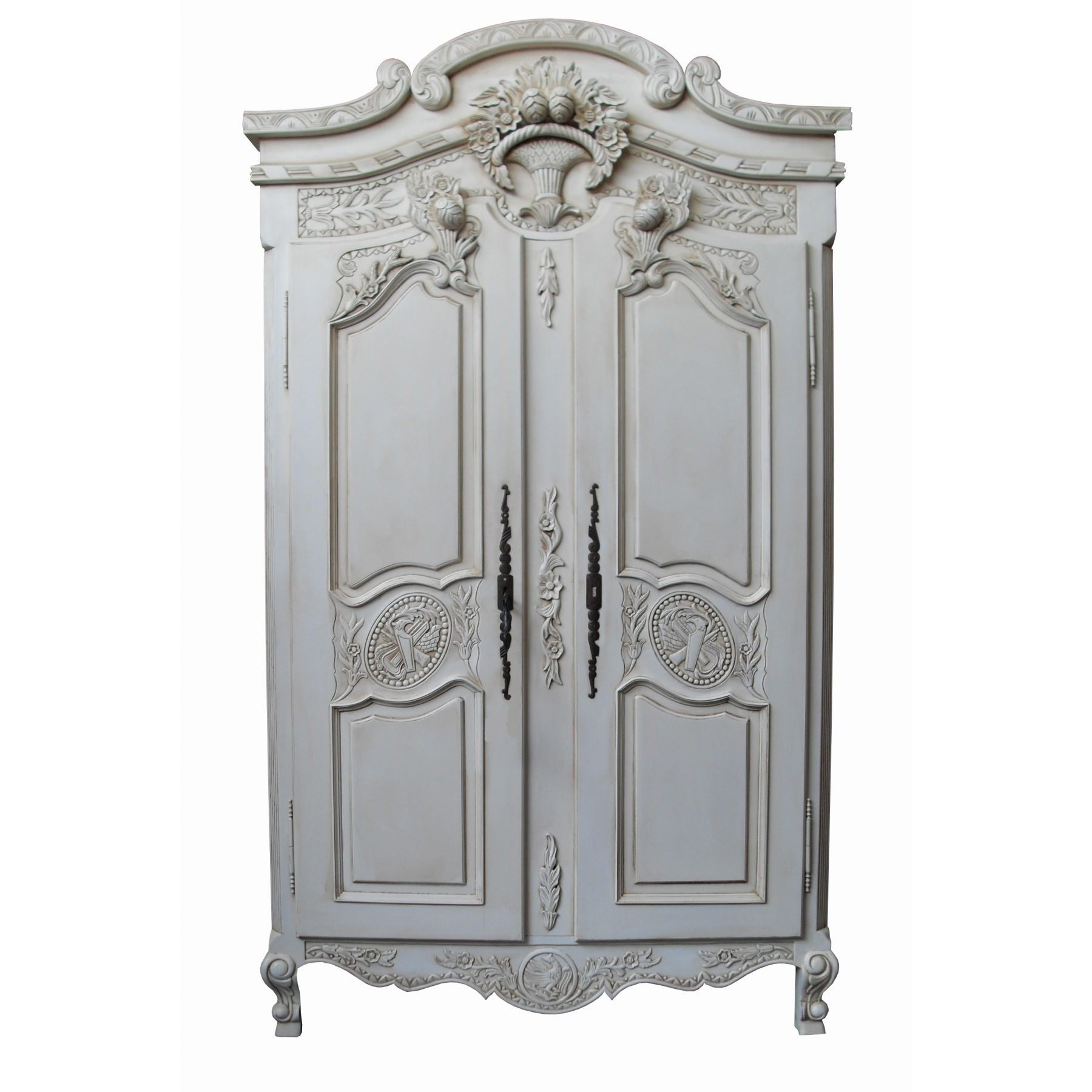 Rococo Wardrobes Regarding Most Current Antique French Wardrobe (View 9 of 15)