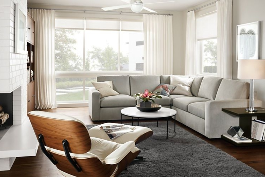 Room And Board Sectional Sofas With Regard To Fashionable Furniture: Classic Sectional Sofa From Room Board – 20 Modular (View 6 of 10)