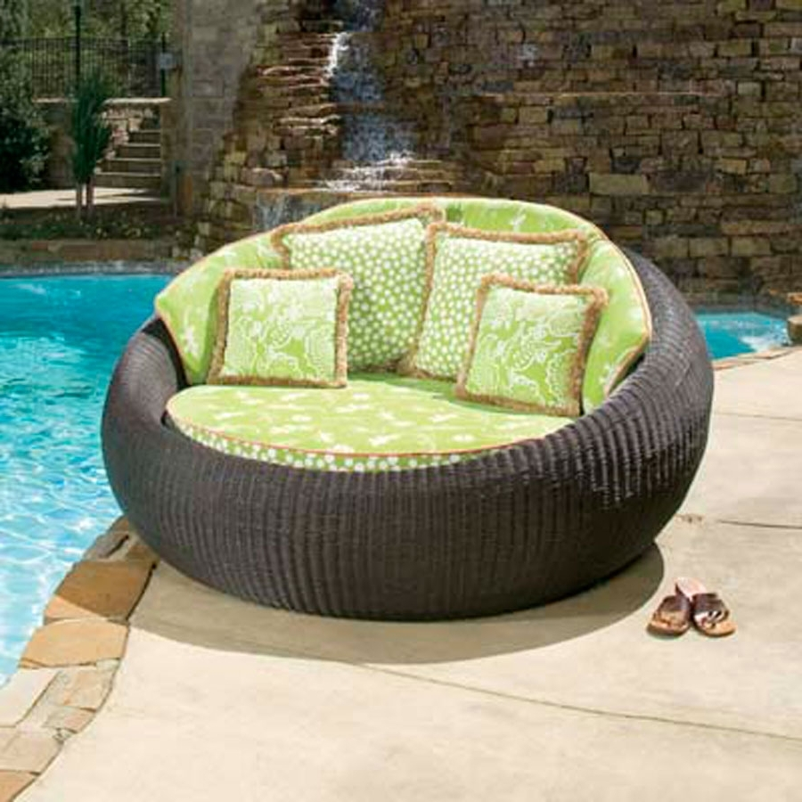 Round Chaise Lounges Intended For 2017 Round Patio Chaise Lounge — Optimizing Home Decor Ideas : Amazing (View 12 of 15)