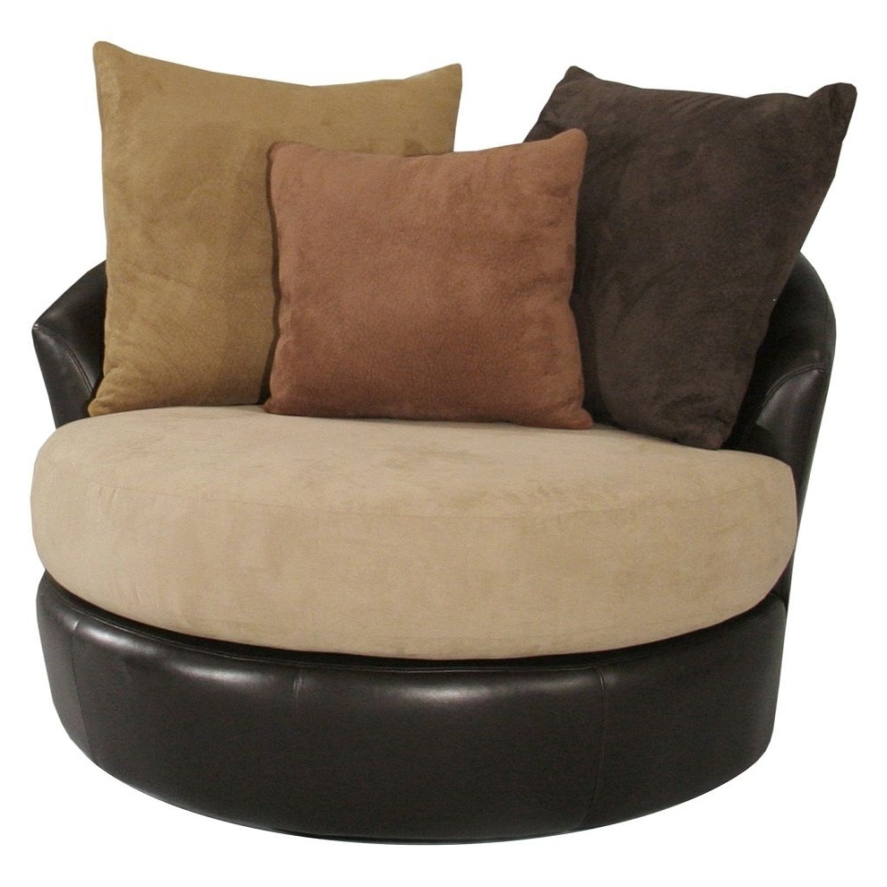 Round Chaise Lounges With 2017 Image Of: Round Oversized Chaise Lounge Indoor (View 15 of 15)