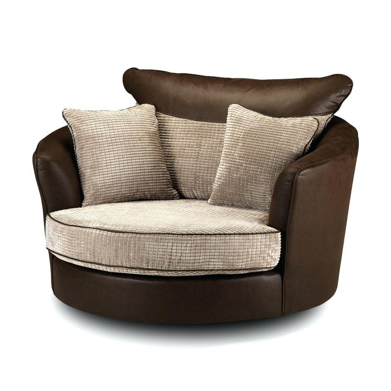 Round Swivel Chair Large Size Of Round Swivel Sofa Chair Fabulous In Fashionable Swivel Sofa Chairs (View 9 of 10)