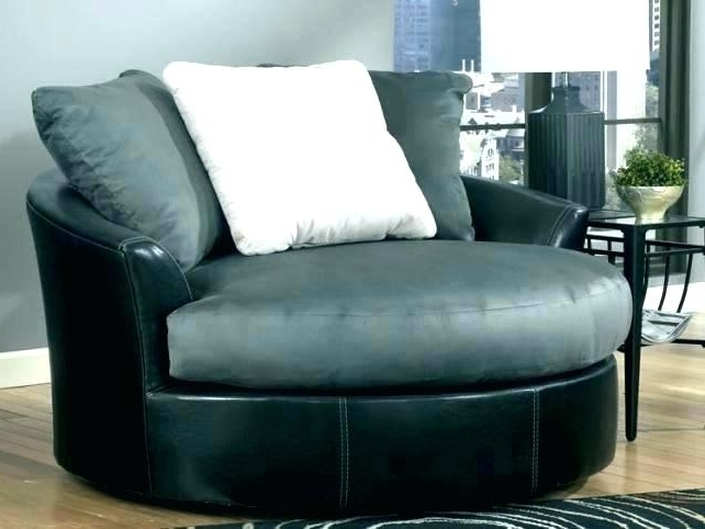 Round Swivel Chairs Big Round Swivel Chair Big Game Swivel Blind Throughout Famous Spinning Sofa Chairs (View 5 of 10)
