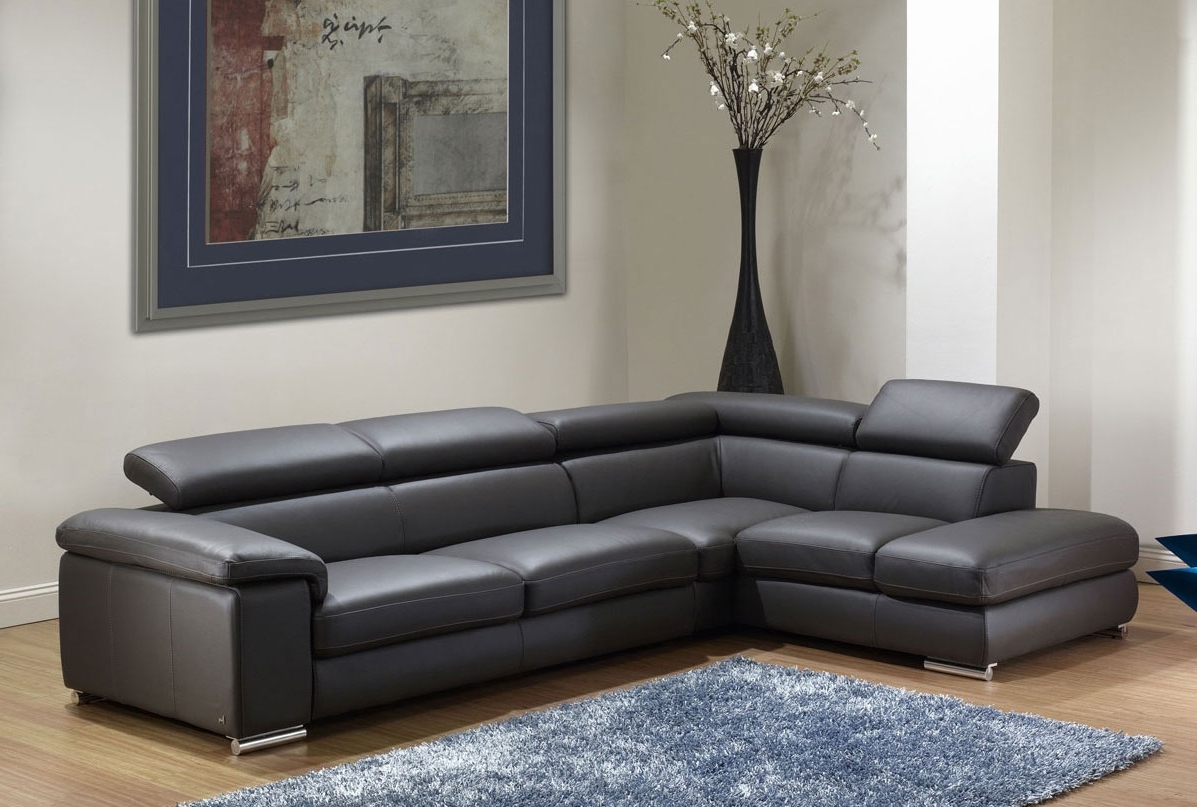 Sacramento Espresso Leather Sectional Sofa Set With Chaise – S3Net Throughout Current Leather Sofas With Chaise (View 12 of 15)