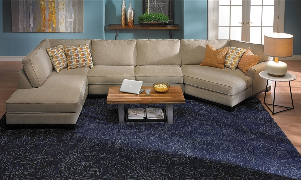Sagittarius Cuddler Chaise Sectional (View 11 of 15)