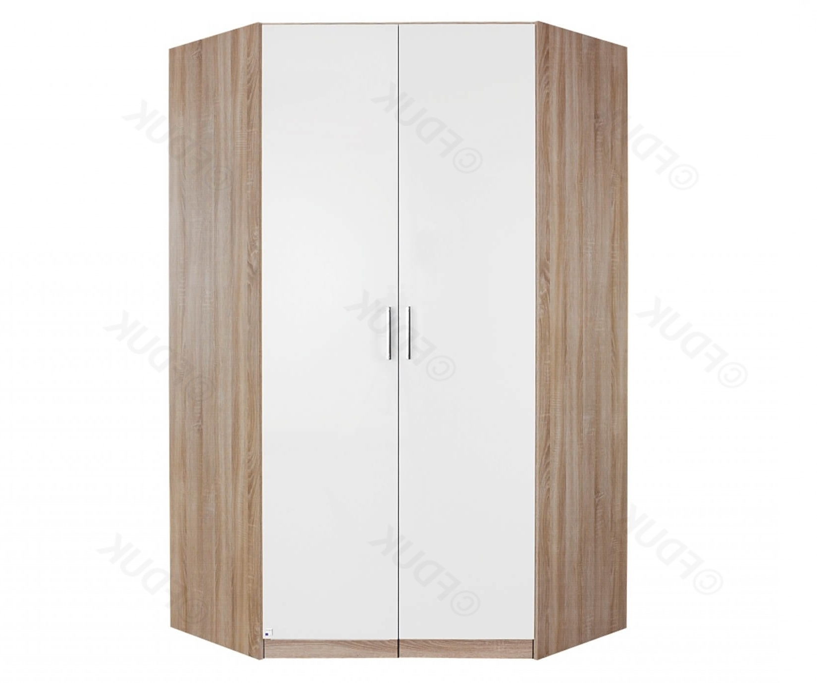 Samos 2 Door Corner Wardrobe Intended For 2 Door Corner Wardrobes (View 14 of 15)