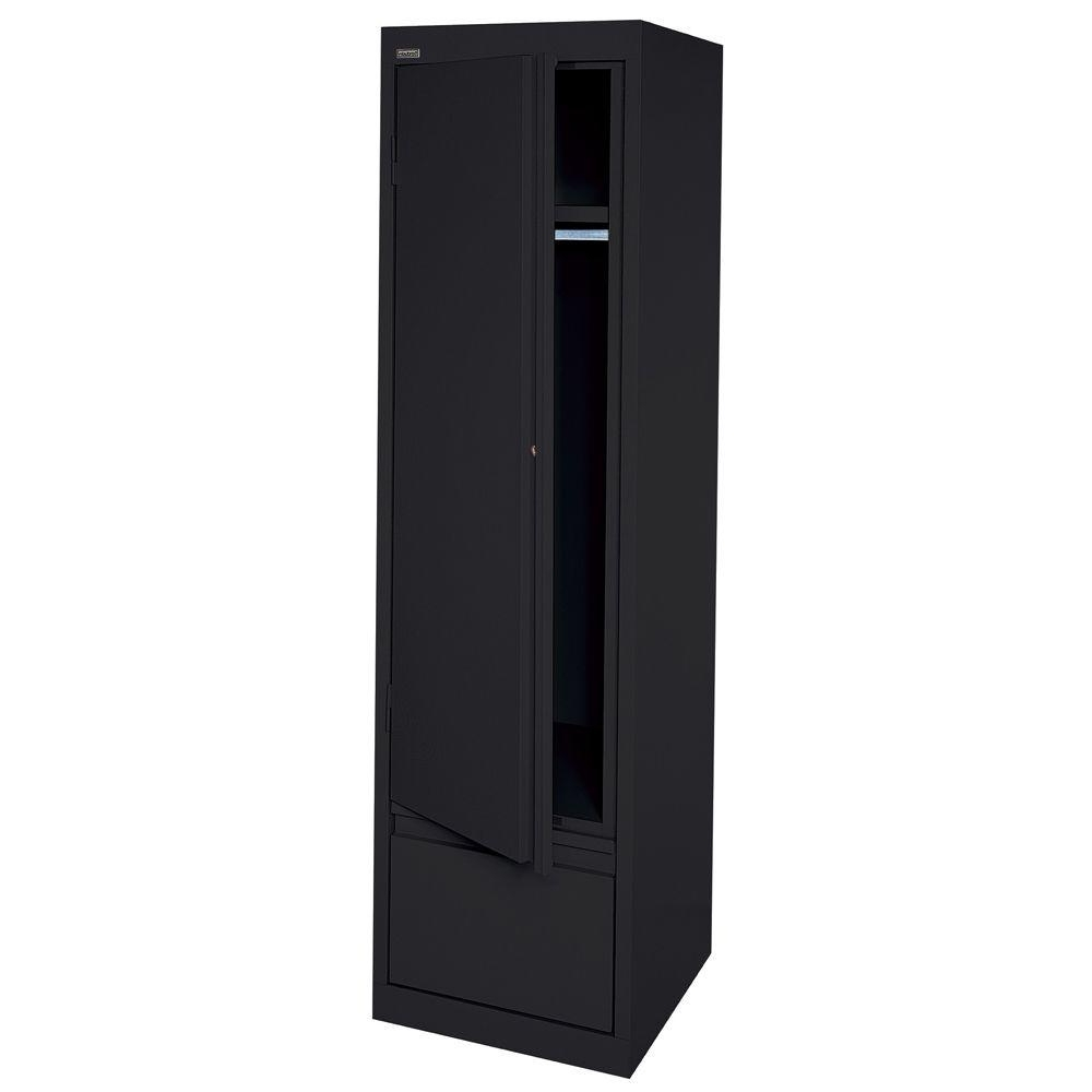 Featured Photo of Single Black Wardrobes