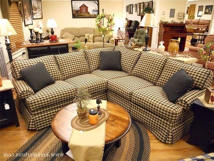 Saving Couches With Primitive Couch Covers For Fashionable Country Sofas And Chairs Gallery 7 Of