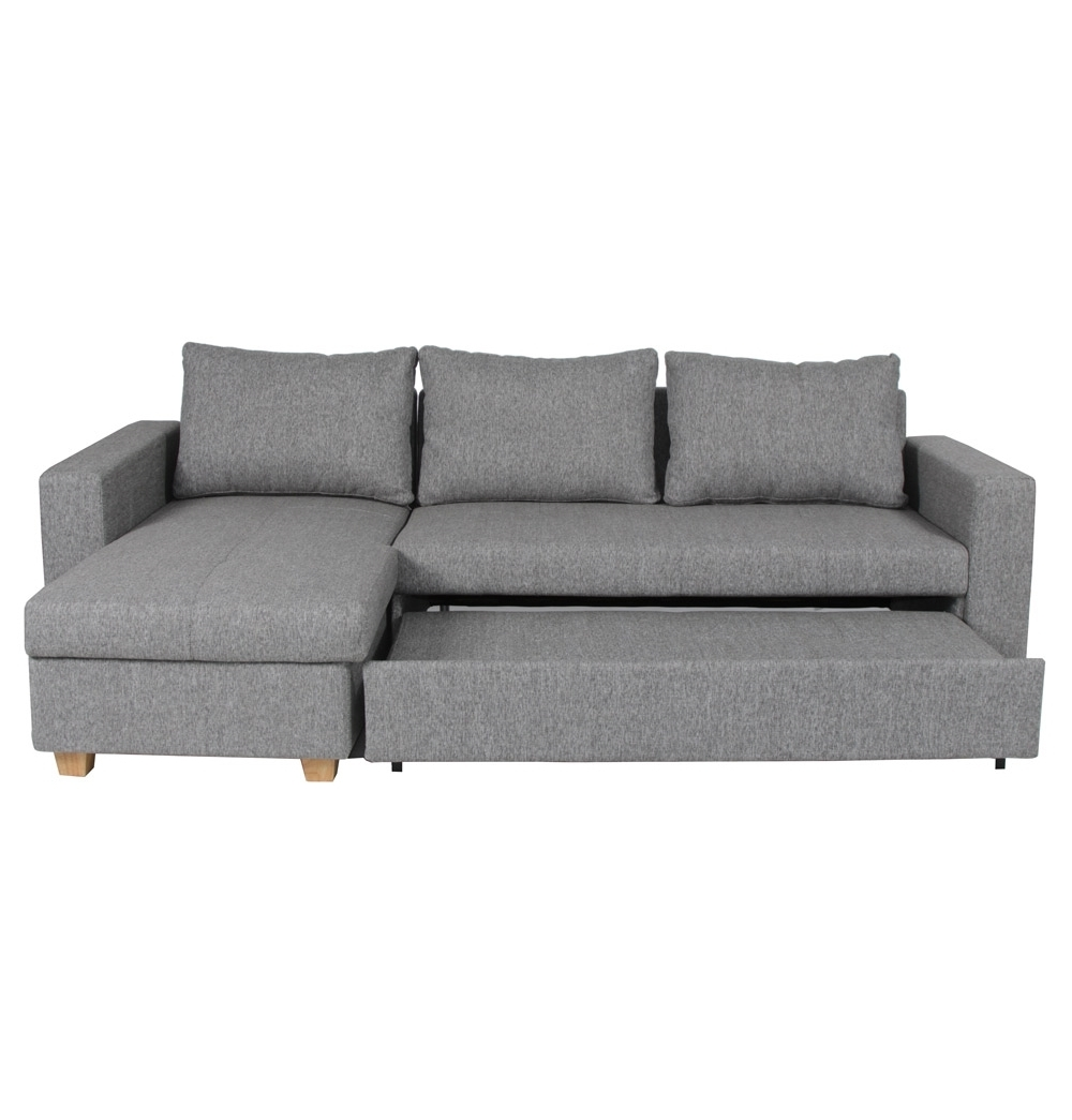 Scandy Sofa Bed In Oxford Smoke. Use As A (View 4 of 15)