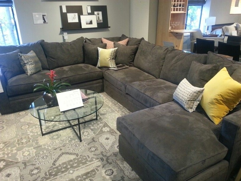 Scruggs Ct House Throughout Room And Board Sectional Sofas (View 7 of 10)