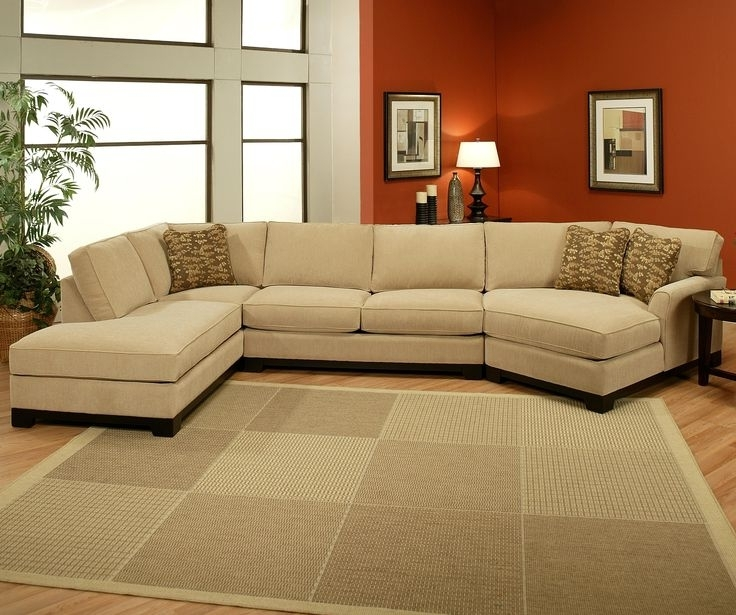 Sectional Sofa Design: 3 Pieces Wonderful Sofa With Chaise 3 Piece With Current Cuddler Sectional Sofas (View 8 of 10)