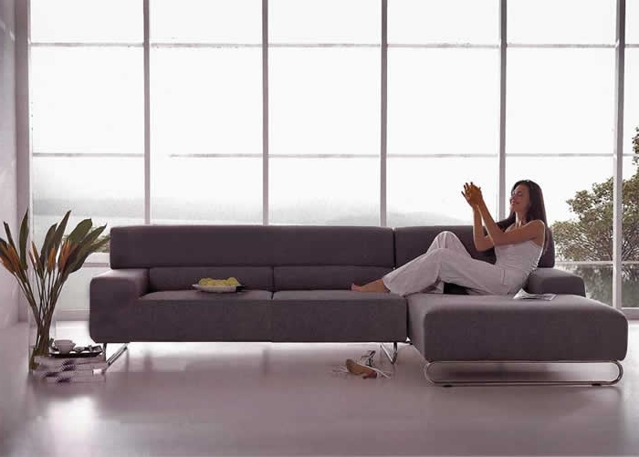 Sectional Sofa Design: Beatiful Sectional Sofa For Small Space Throughout Latest Modern Sectional Sofas For Small Spaces (View 4 of 10)