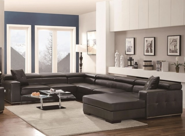 Sectional Sofa Design: Best Choice Extra Large Sectional Sofas In Popular Huge U Shaped Sectionals (View 10 of 10)