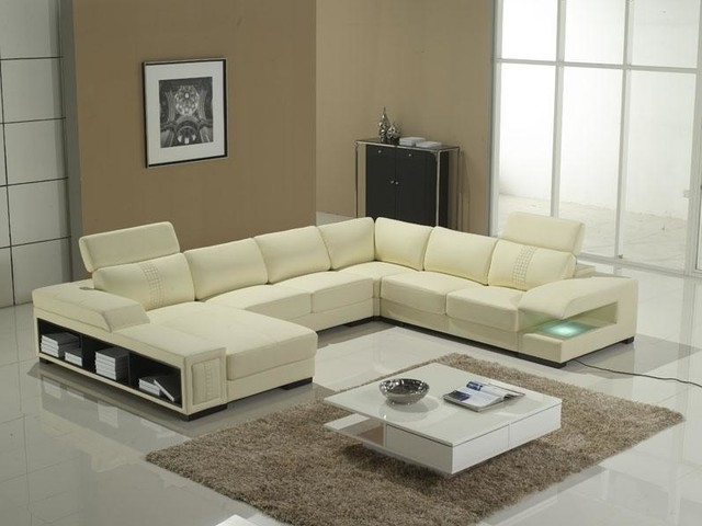 Sectional Sofa Design: Top Choosen U Shaped Sectional Sofa With With Regard To Well Known Modern U Shaped Sectional Sofas (View 10 of 10)