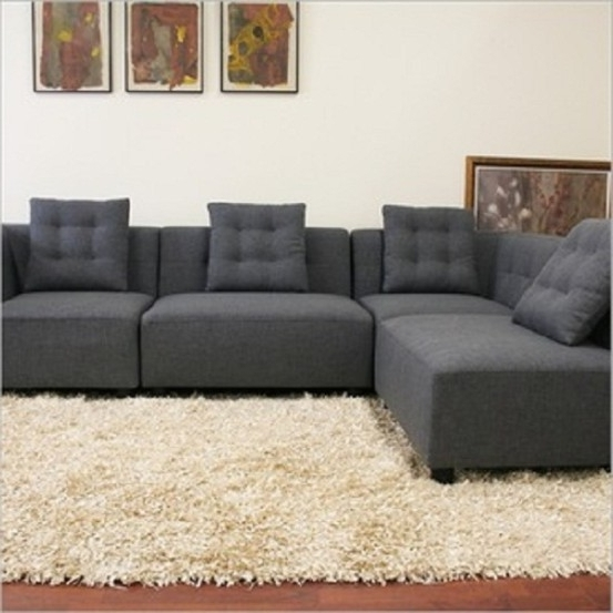 Sectional Sofa: Small Modular Sofa Sectionals Bassett Spaces U Regarding Newest Small Modular Sectional Sofas (View 5 of 10)