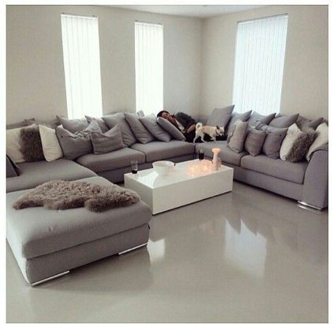 Sectional Sofa: The Best Design C Shaped Sofa Sectional Types Of Pertaining To Recent C Shaped Sofas (View 9 of 10)