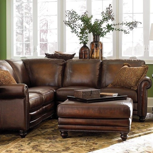 Sectional Sofas For Small Spaces With Recliners In Preferred Sectional Sofa Design: Small Leather Sectional Sofa Chaise (View 7 of 10)