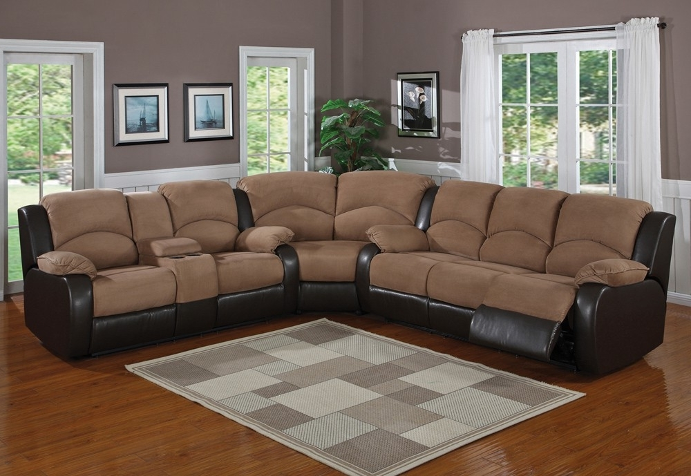 Sectional Sofas In Popular Sectional Sofas With Recliners Models — Entrestl Decors : The (View 7 of 10)