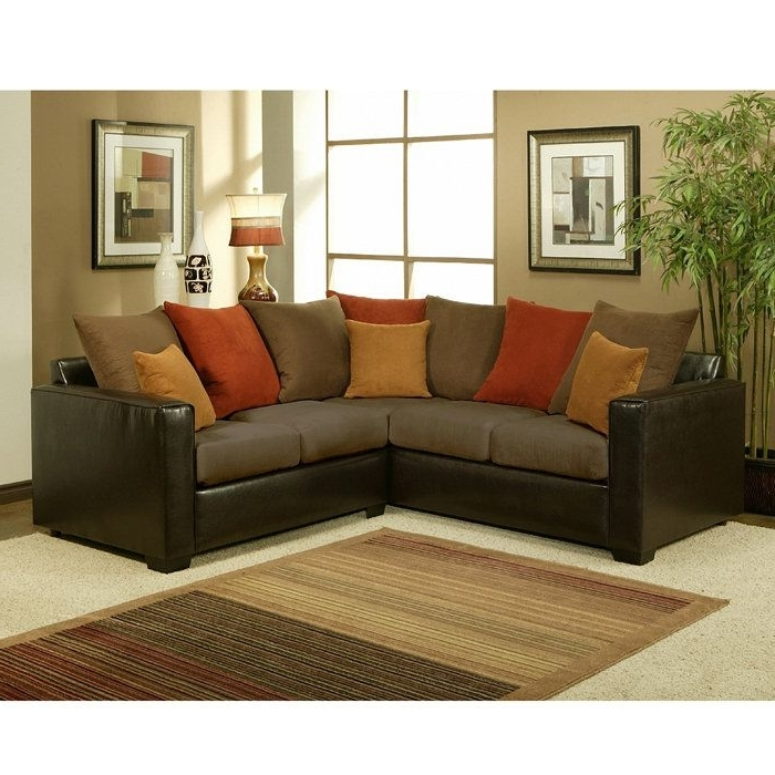 Sectional Sofas In Small Spaces In Most Popular Sectional Couches For Small Spaces Attractive Sectional Sofas For (View 8 of 10)
