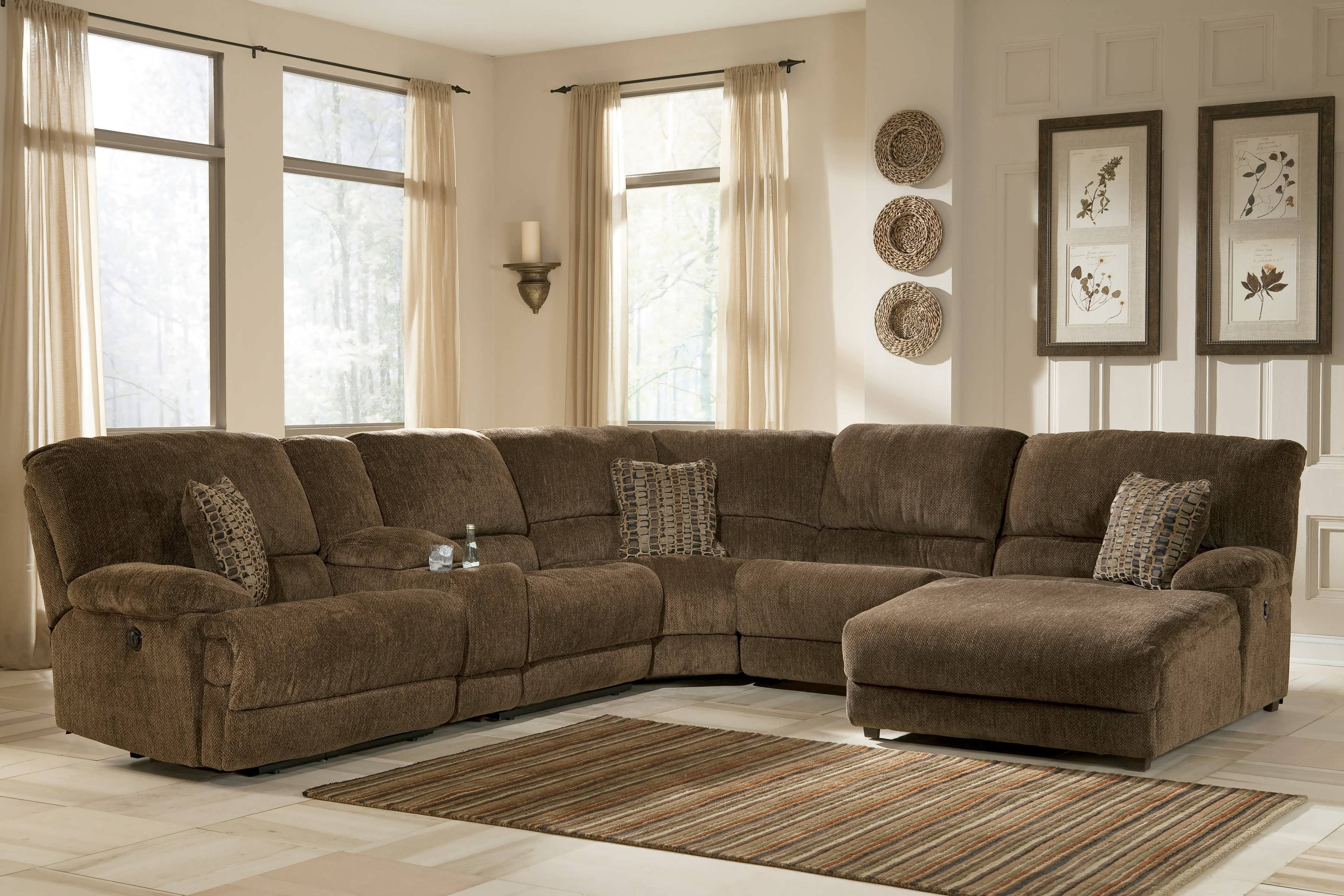 Sectional Sofas With Recliners And Chaise With Regard To Most Up To Date Sofa : Small Sectional Couch Gray Sectional Small Sectional Sofa (View 12 of 15)