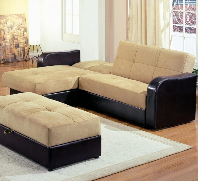 Sectional Sofas With Storage In Popular Sofa : Small Loveseats Small Sectional Sofa Small Sleeper Sofa (View 7 of 10)