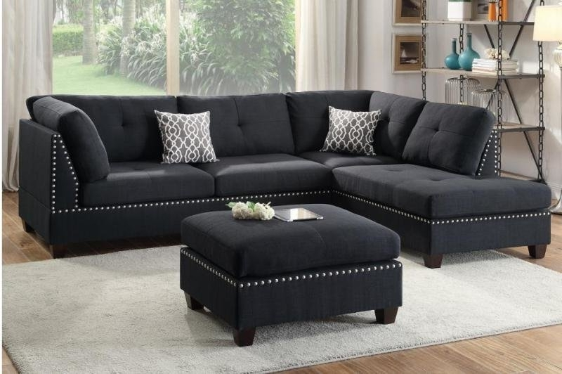 Sectionals With Ottoman Intended For Trendy A&j Homes Studio Tammy Sectional With Ottoman & Reviews (View 4 of 10)