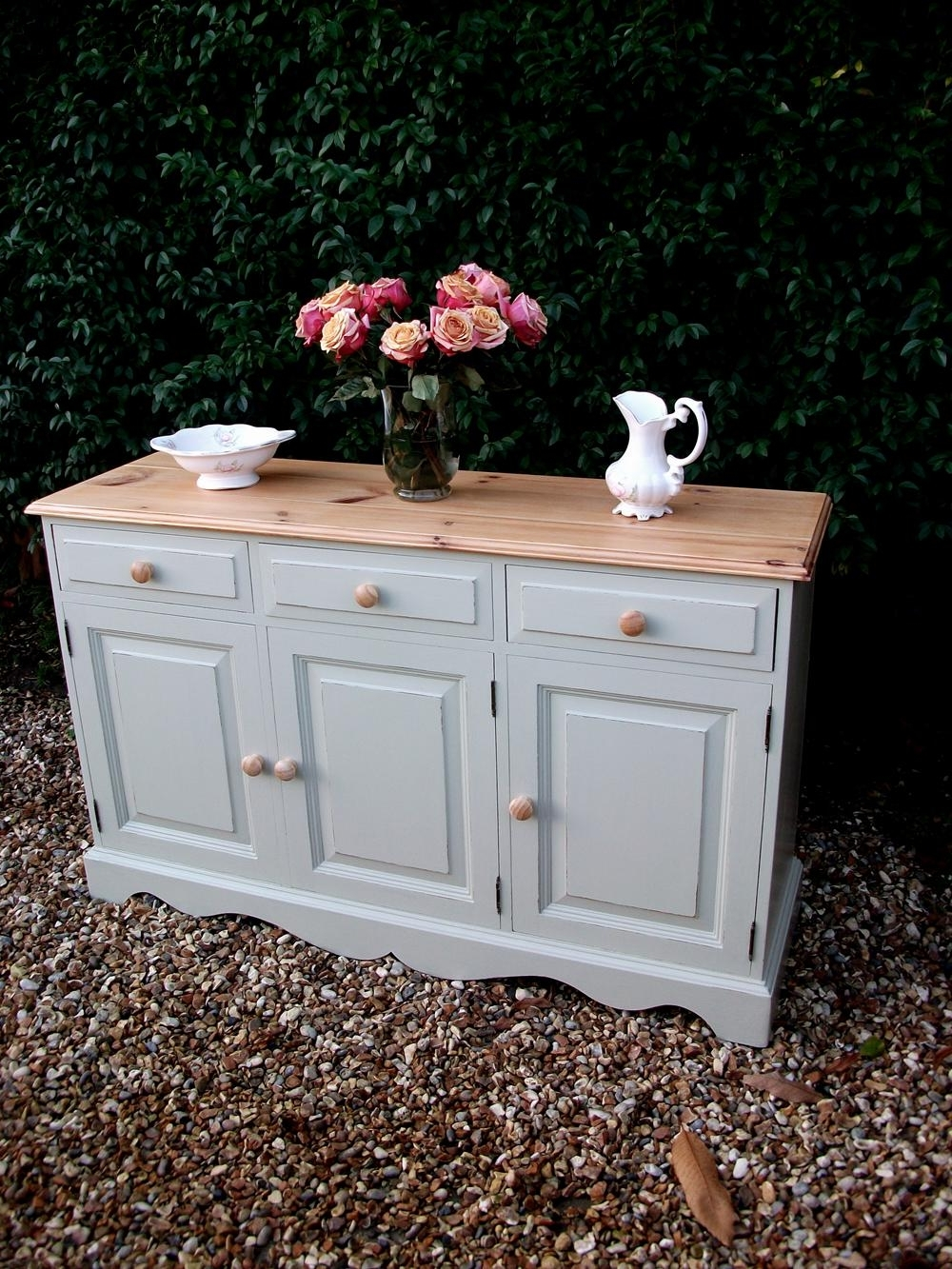 Shabby Chic Pine Wardrobes For Preferred Blues And Hues – Bespoke Furniture Painting Surrey (View 12 of 15)
