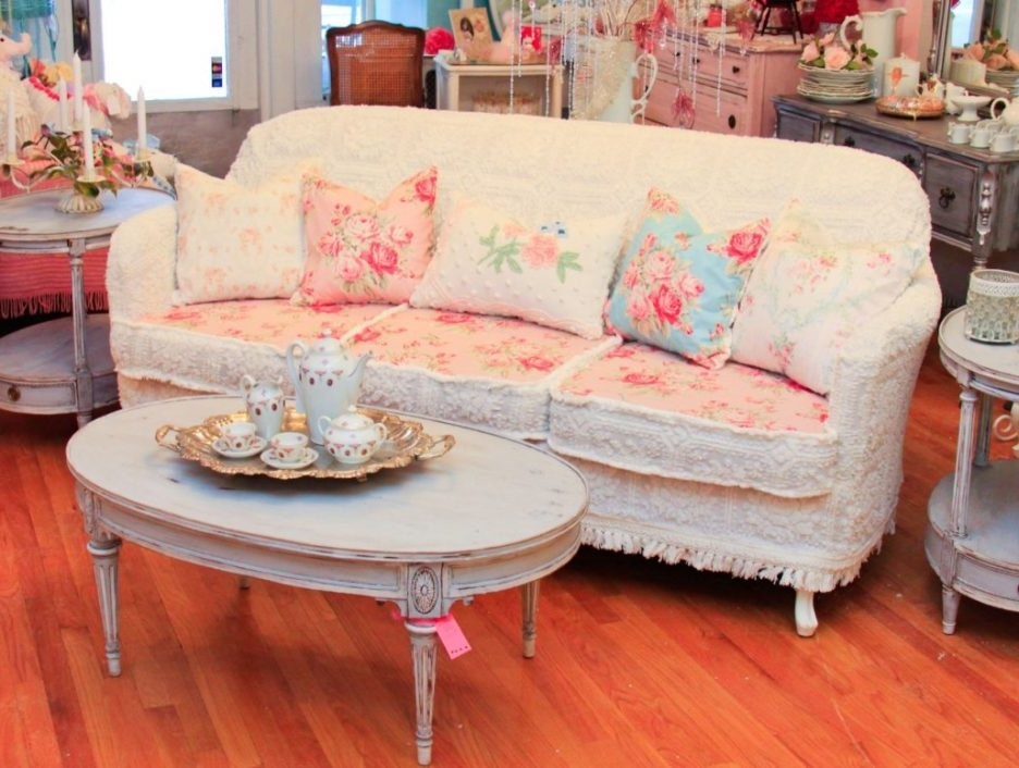 Shabby Chic Sofa Ideas Shabby Chic Sofa For Sale Shabby Chic Used Throughout Most Popular Shabby Chic Sofas (View 7 of 10)