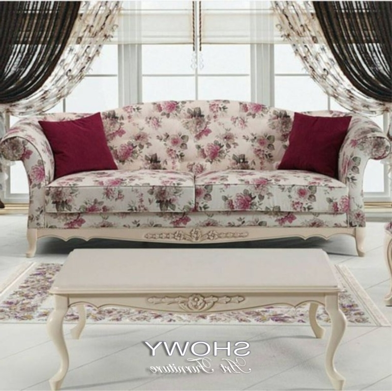 Shabby Chic Sofas Intended For Fashionable Make Your Living Room Stylish With A Shabby Chic Couch Sofa Plans (View 7 of 10)