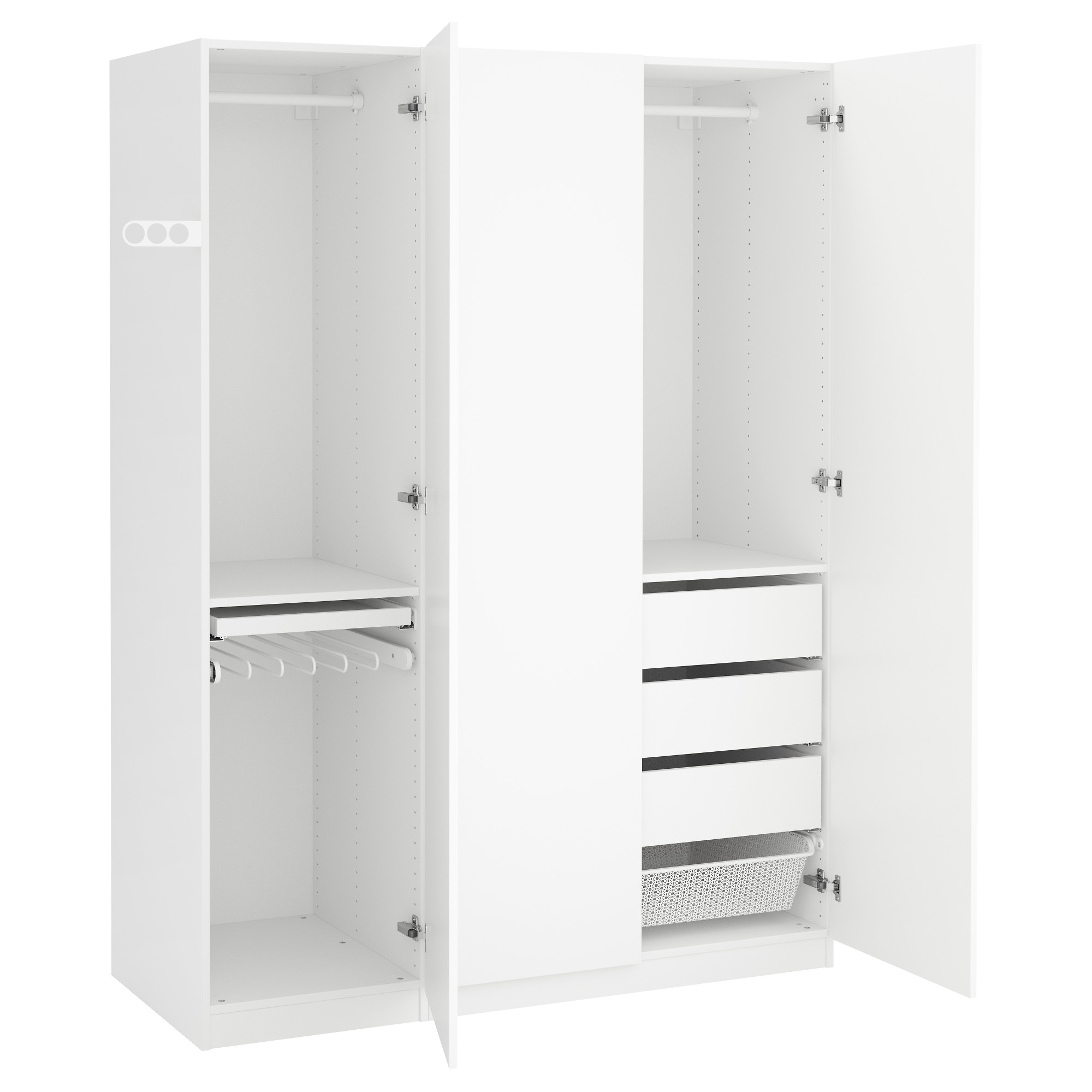 Single Door Wardrobes Wooden Wardrobe Ikea White Designs Elegant Intended For Favorite Black Single Door Wardrobes (View 15 of 15)