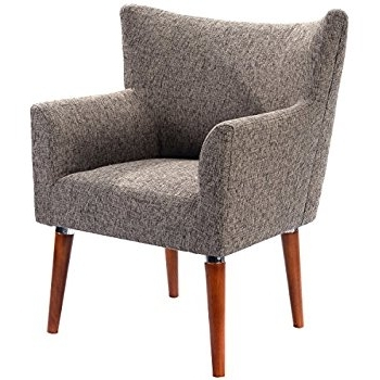 Single Seat Sofa Chairs With Regard To Well Liked Amazon: Mid Century Modern Two Tone Fabric Living Room (View 10 of 10)