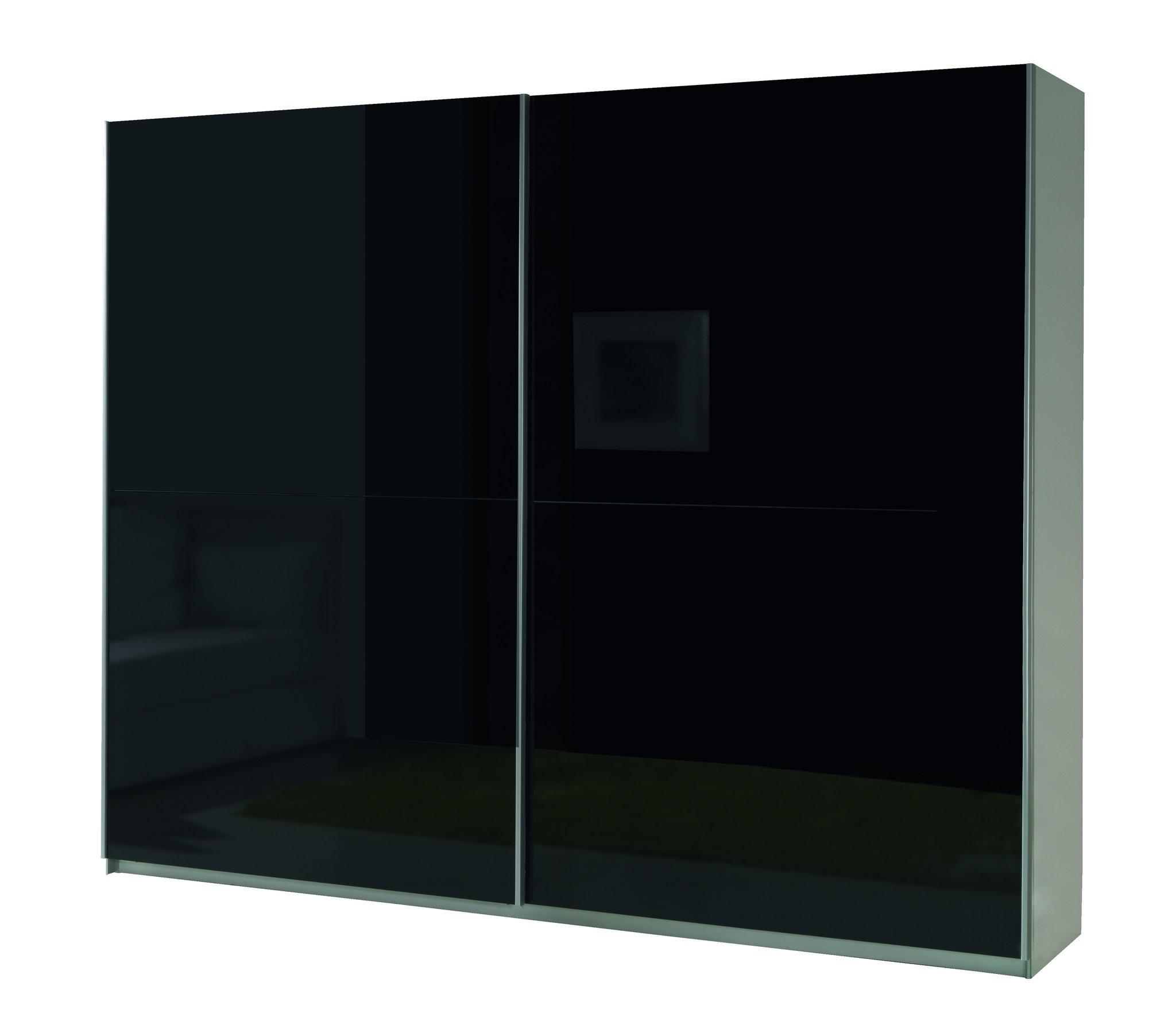 Sliding Wardrobe – Cheap Home Furniture Regarding 2018 Black Shiny Wardrobes (View 10 of 15)