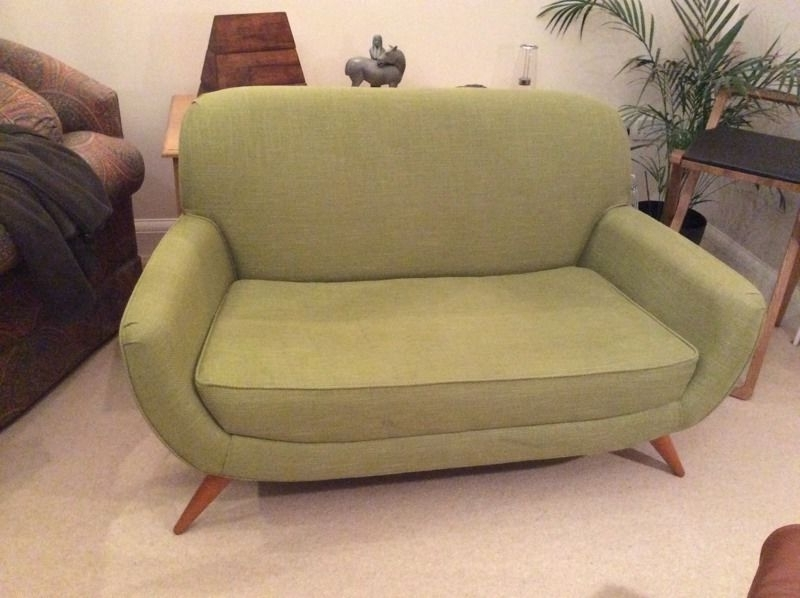 Small 2 Seater Sofas For Well Liked Laura Ashley Colinton Small 2 Seater Sofa/love Seat, Midcentury (View 7 of 10)