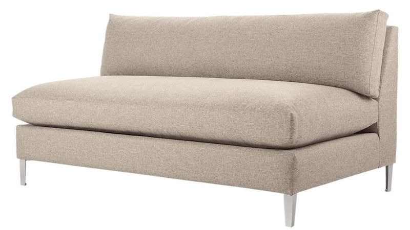 Small Armless Sofas In Most Recently Released The Best Sofas For Small Spaces – The Everygirl (View 5 of 10)