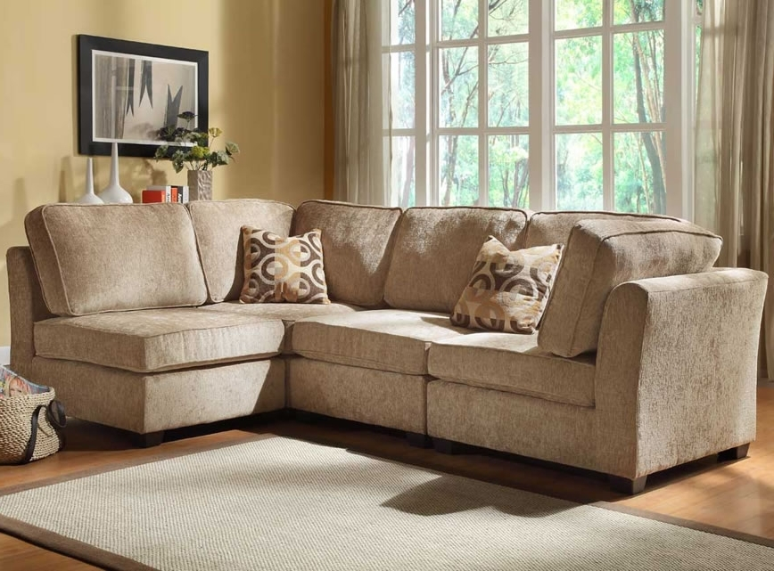 Small Modular Sectional Sofas With Regard To 2017 Sectional Sofa For Small Spaces (View 8 of 10)