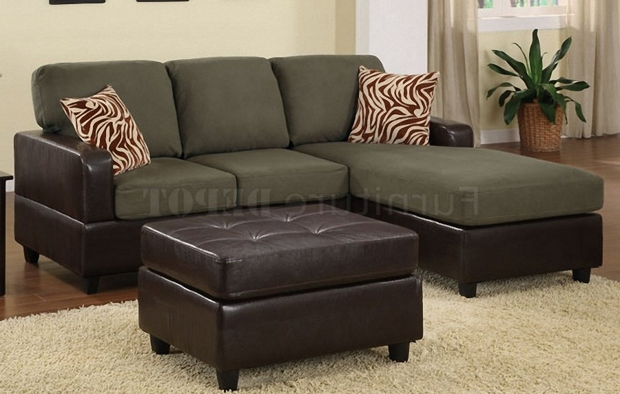 Small Sectional Sofas With Chaise And Ottoman With Best And Newest Sectional Sofa Design: Small Sectional Sofa For Best Design Living (View 8 of 10)