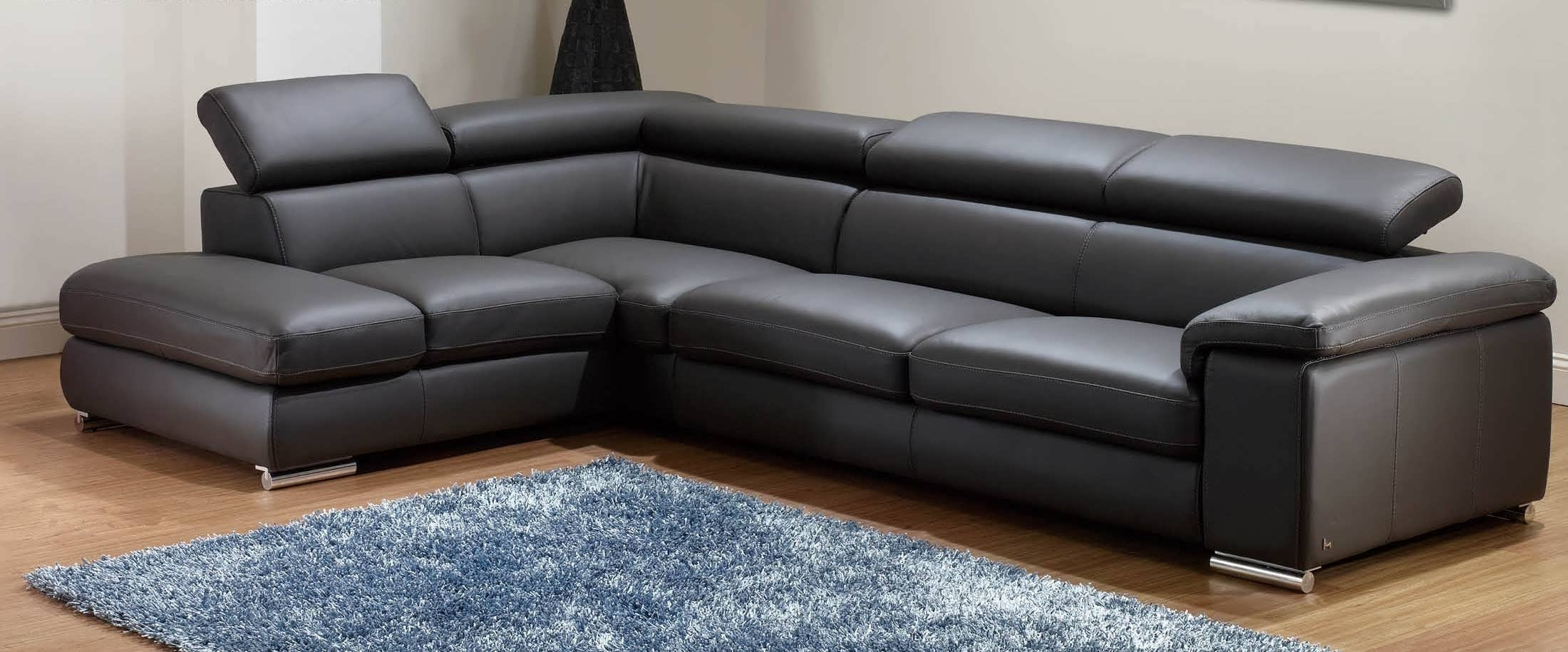 Small Sectionals With Chaise With 2017 Sofa : Chaise Sofa Double Chaise Sectional Small L Shaped Couch (View 13 of 15)