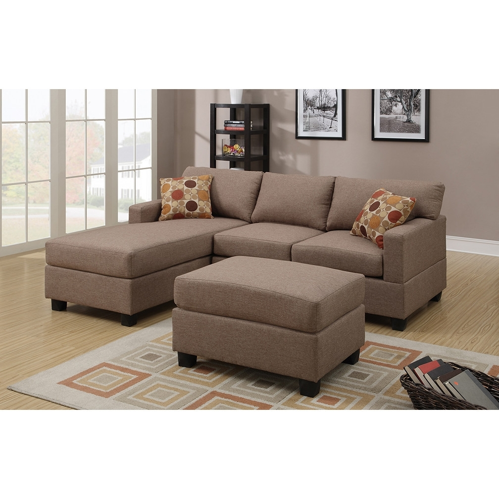 Small Sofas With Chaise Pertaining To Trendy Enchanting Small Sectional Sofas With Chaise 78 In Round Sectional (View 13 of 15)