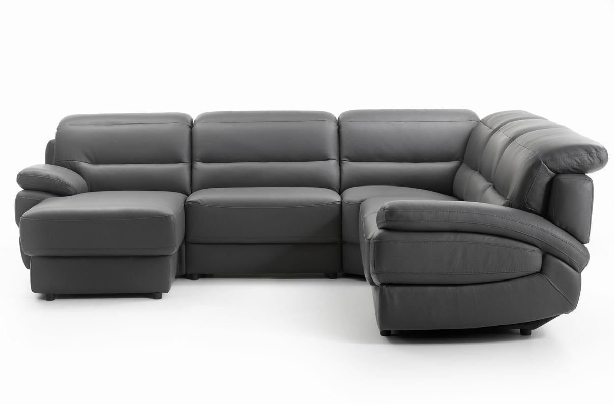 Small Sofas With Chaise Throughout Preferred Sofa : Small Sofa With Chaise Lounge U Shaped Sofas Sectional (View 15 of 15)