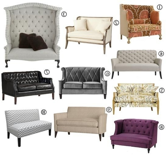 Small Space Sofa Alternatives: 10 Settees & Loveseats (View 10 of 10)