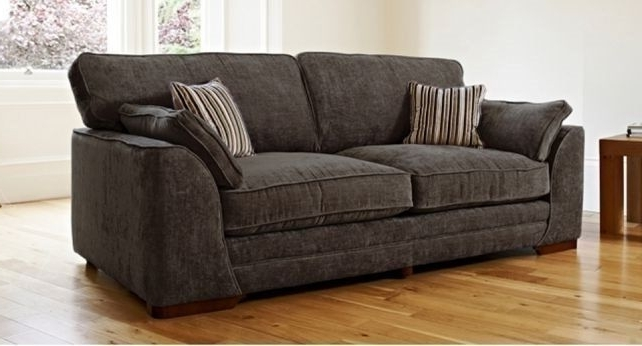 Snuggle Sofas For Most Current Scs Portland 3 Seater Sofa And Snuggle Chair In Nutmeg £120 Ono (View 7 of 10)