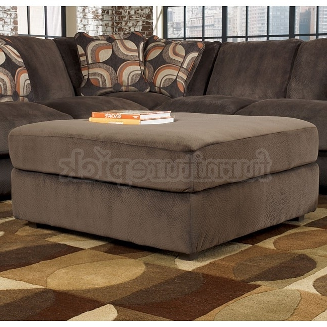 Sofa Beds Design: Astonishing Contemporary Sectional Sofa With For Recent Sectionals With Oversized Ottoman (View 9 of 10)