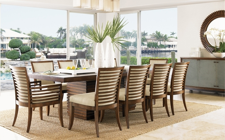 Sofa Chairs With Dining Table Pertaining To Most Recent Tommy Bahama – Tommy Bahama Collection, Tommy Bahama Furniture (View 6 of 10)