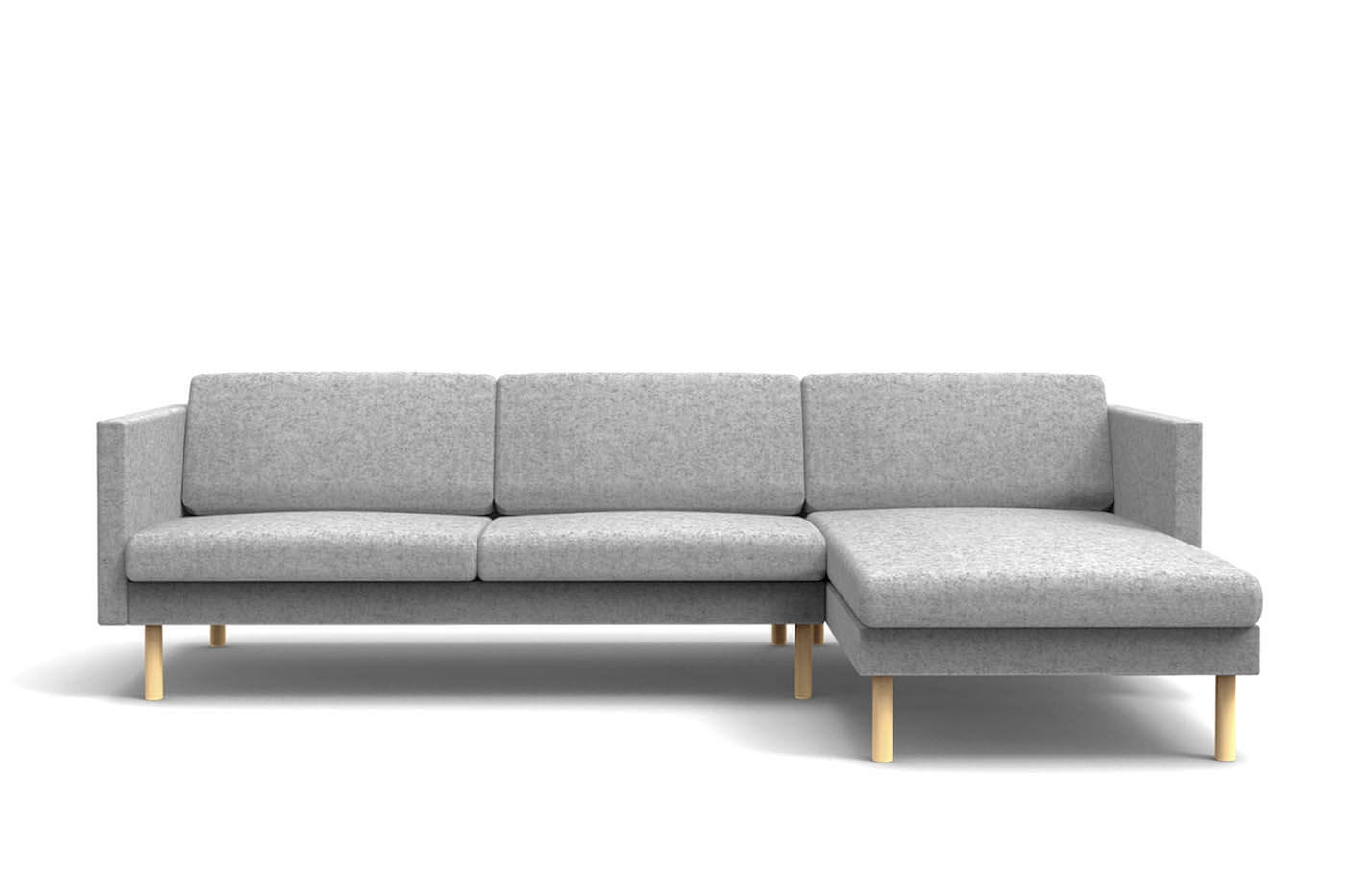 Sofa Chaise Lounges Regarding Most Recently Released Leaf Sofa Chaise Lounge Left – Oot Oot Studio (View 3 of 15)